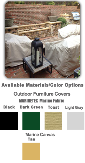 Custom Outdoor Furniture Covers