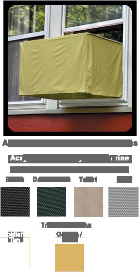 Window AC Covers