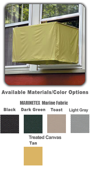 Window AC Covers